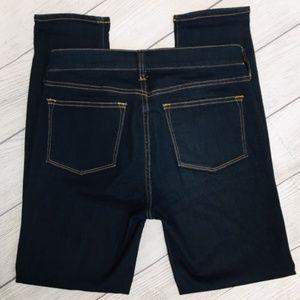 J Crew Dark Wash Stretch Skinny Jean 26/28